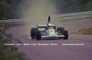 EAGLE 755 F5000 photo.  Bobby Unser. Pocono 1975